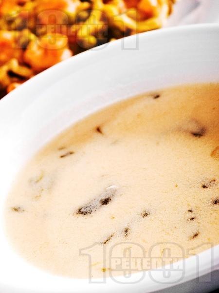 Супа от целина, мляко и сметана - снимка на рецептата